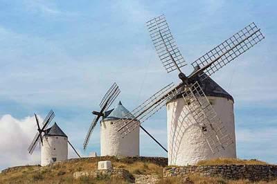 Windmills, Consuegra, Spain Poster
