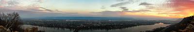 Winona Sunrise Panorama Poster