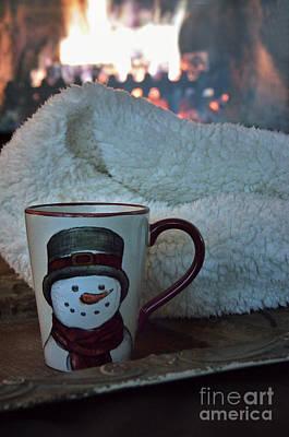 Winter Comfort Poster by Birgit Tyrrell