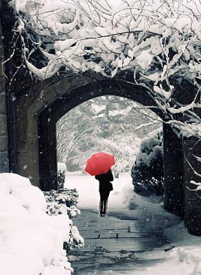 Winter Passage Poster by Jessica Jenney