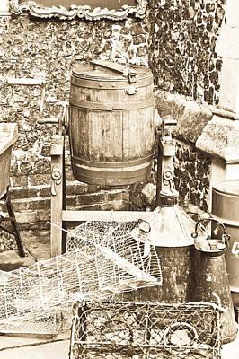 Wooden Barrel Poster by Tom Gowanlock