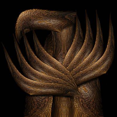 Wooden Bird Poster
