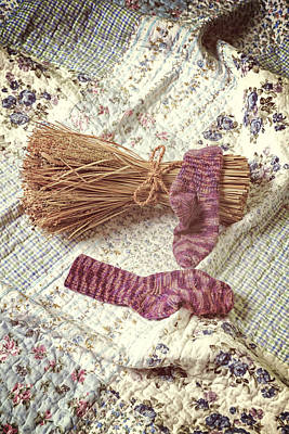 Woollen Socks Poster by Joana Kruse