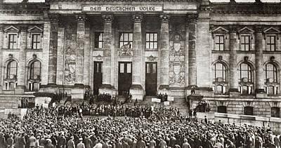 World War I Berlin, 1919 Poster by Granger