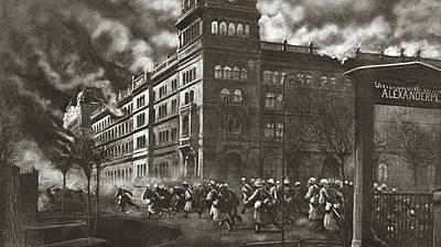 World War I Berlin Poster