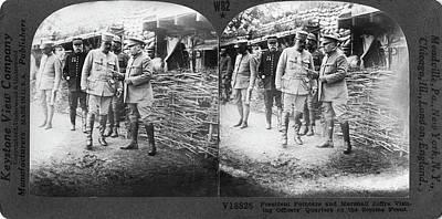 World War I Somme Front Poster by Granger