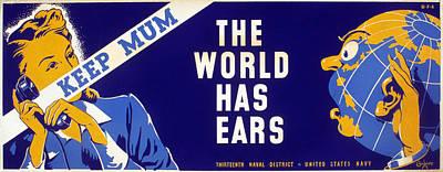 World War II Poster, C1942 Poster by Granger