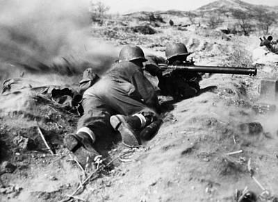 World War II: U.s. Troops Poster by Granger