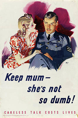 Wwii Poster, C1942 Poster