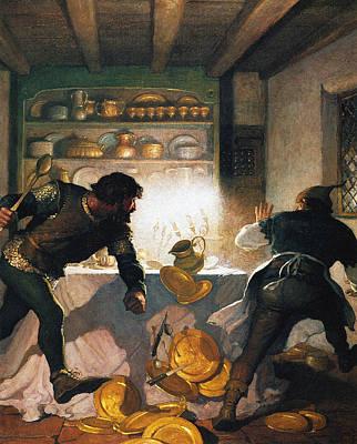 Wyeth Robin Hood, 1917 Poster by Granger