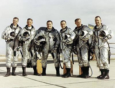 X-15 Aircraft Test Pilots Poster