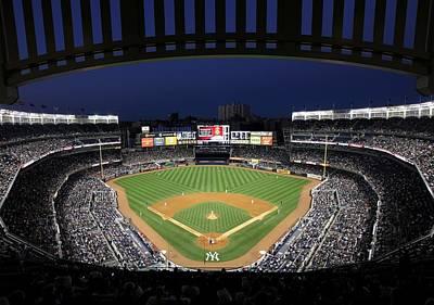Yankee Stadium 2 Poster by Allen Beatty