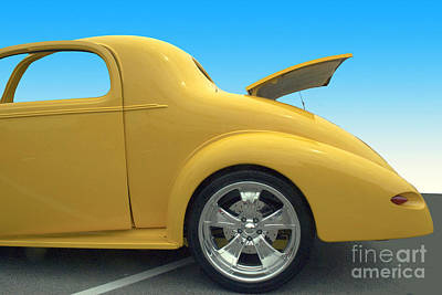 Yellow Coupe Poster