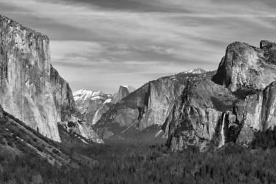 Yosemite Poster by David Gleeson