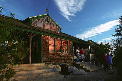 Zealand Falls Hut Poster
