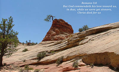 Zion Romans 5-8 Poster by Nelson Skinner