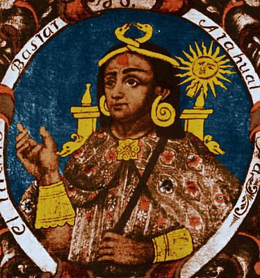 Atahualpa, Last Emperor Of The Incan Poster