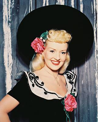 Betty Grable Poster by Silver Screen
