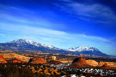 Capitol Reef National Park Burr Trail Poster by Mark Smith