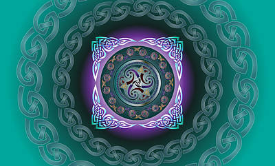 Celtic Pattern Poster