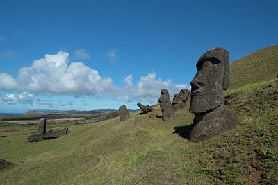 Chile, Easter Island Aka Rapa Nui Poster by Cindy Miller Hopkins