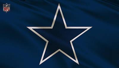 Dallas Cowboys Uniform Poster