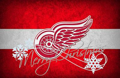 Detroit Red Wings Poster by Joe Hamilton