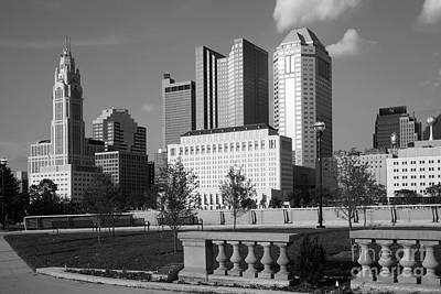 Downtown Skyline Of Columbus Ohio Poster