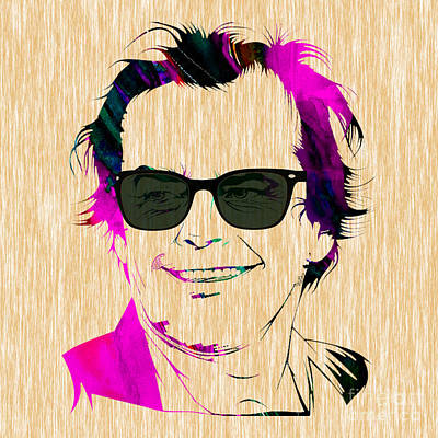 Jack Nicholson Collection Poster by Marvin Blaine