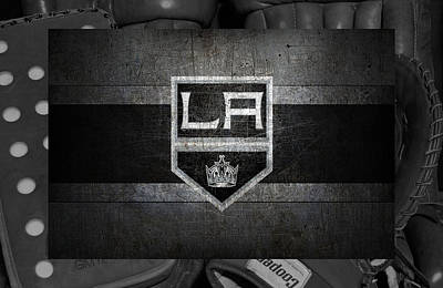 Los Angeles Kings Poster by Joe Hamilton