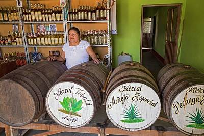 Mezcal Distillery Poster