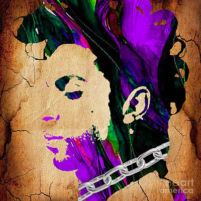 Prince Collection Poster by Marvin Blaine