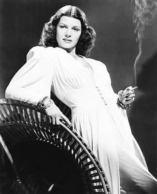 Rita Hayworth, Columbia Portrait, Circa Poster by Everett