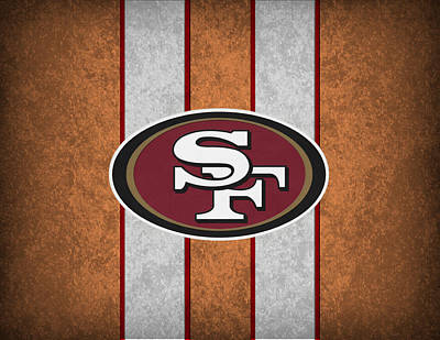 San Francisco 49ers Poster by Joe Hamilton