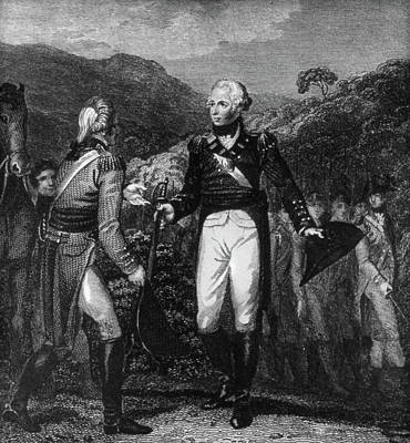 Saratoga Surrender, 1777 Poster