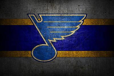 St Louis Blues Poster