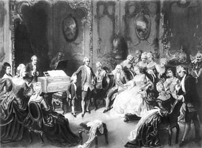 Wolfgang Amadeus Mozart (1756-1791) Poster by Granger