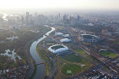 Aerial Views Of Australia Poster by Brett Price