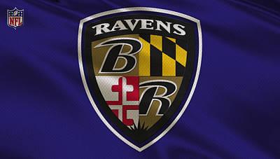 Baltimore Ravens Uniform Poster