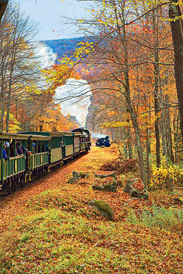 Cass Scenic Railroad Poster by Mary Almond
