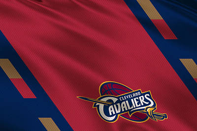 Cleveland Cavaliers Uniform Poster by Joe Hamilton
