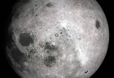 Far Side Of The Moon Poster by Detlev Van Ravenswaay