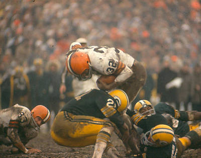 Jim Brown Poster by Retro Images Archive