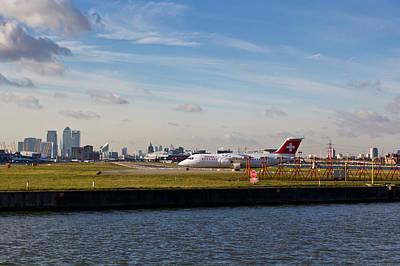 London City Airport Poster by David Pyatt