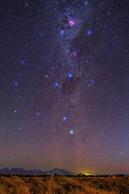 Milky Way Over The Atacama Desert Poster