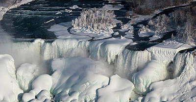 Niagara Falls In Winter Poster by Jim West
