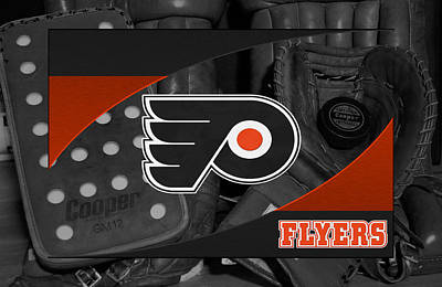 Philadelphia Flyers Poster by Joe Hamilton