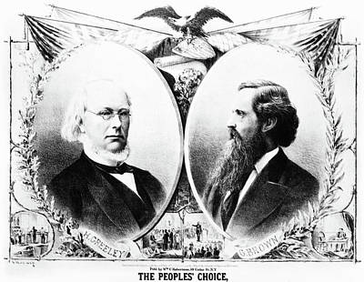 Presidential Campaign, 1872 Poster by Granger