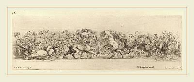 Stefano Della Bella Italian, 1610-1664 Poster by Litz Collection