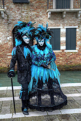 Venice At Carnival Time, Italy Poster